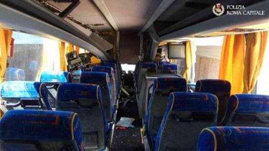 ВРиме автобус въехал вмост, 18 пострадавших